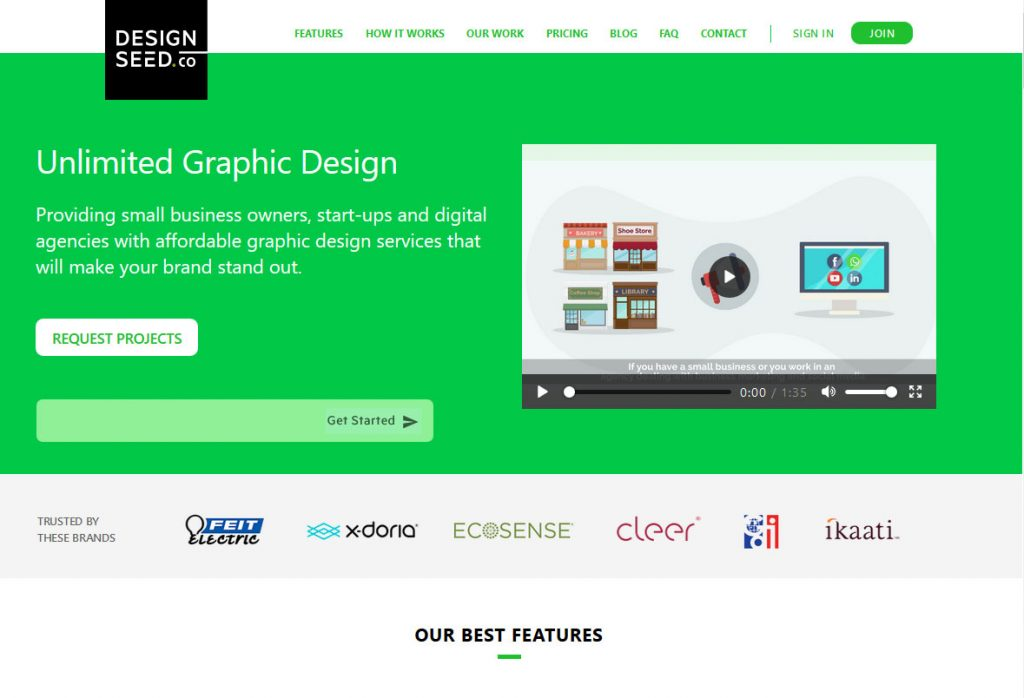 Design Seed Homepage