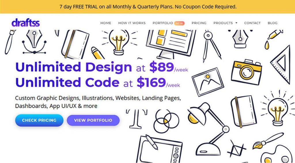 Draftss Homepage