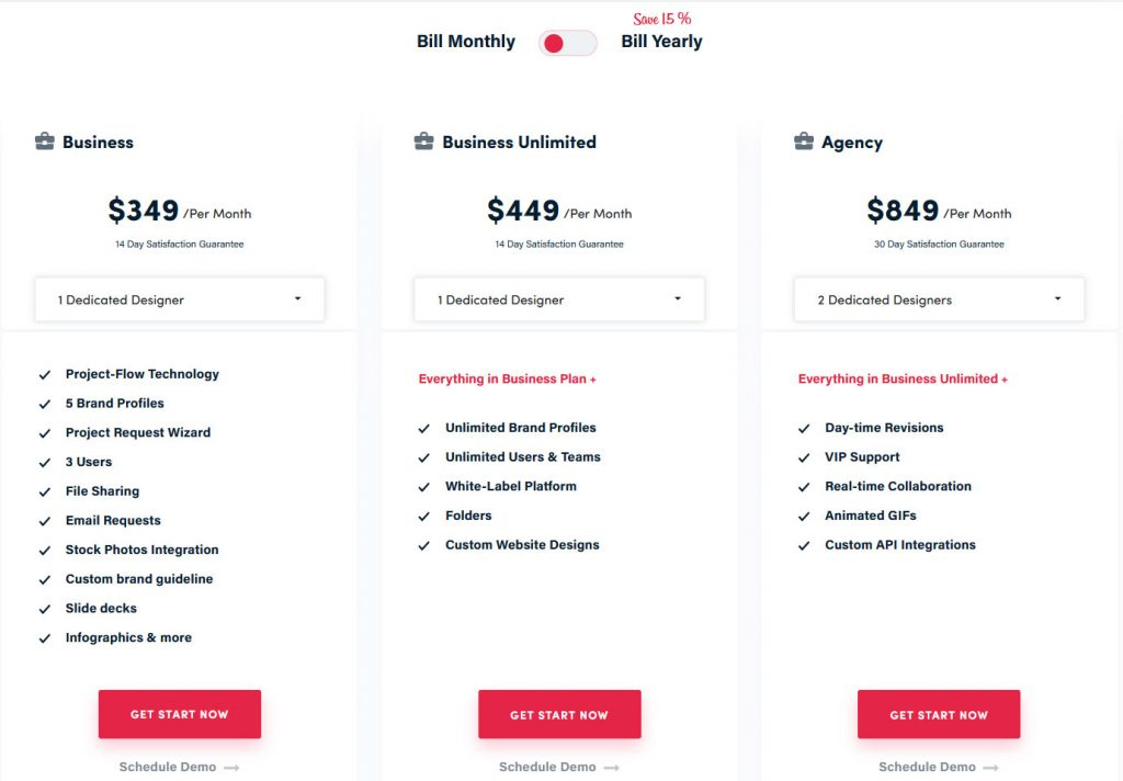 Graphics Zoo Plans and Pricing Options