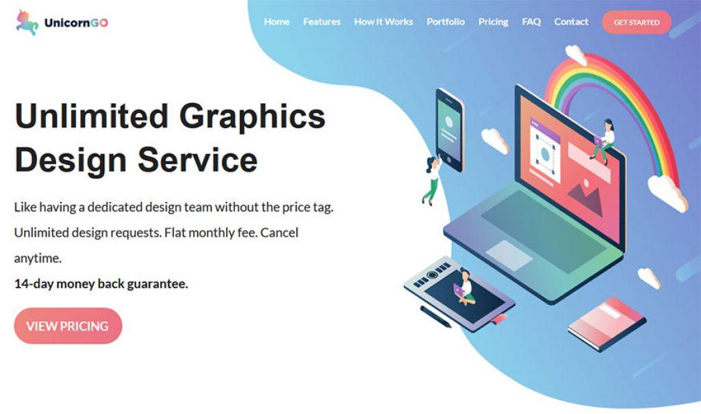 UnicornGO! Homepage